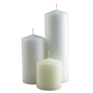 Wax Pillar Candles