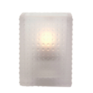 Dimpled-Glass-PV1-Frost-Restaurant-Table-Light