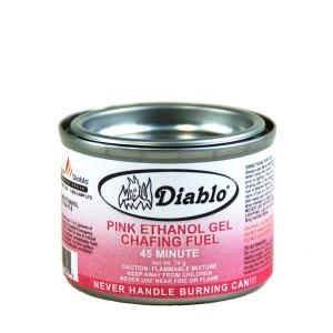 Pink 45 Min Ethanol Gel Chafing Fuel