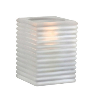 Mini-Cami-Horizontal-Rib-Frost-Block-Table-Lamp
