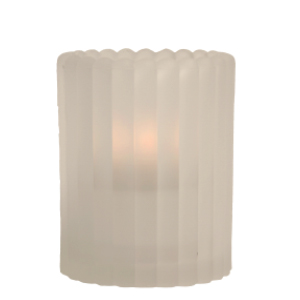 Mini-Vertical-Rib-Frost-Table-Lamp