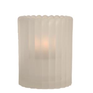 Mini-Vertical-Rib-Frost-Table-Lamp