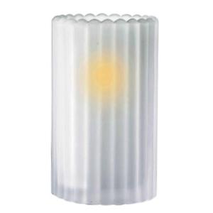 Sophia-Vertical-Rib-Frost-Table-Lamp