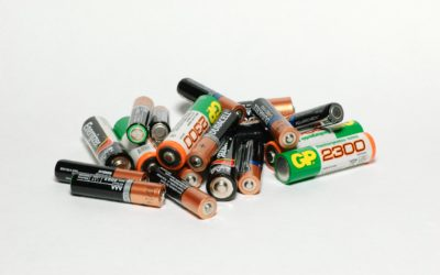 Did you know it's bad to throw away batteries?