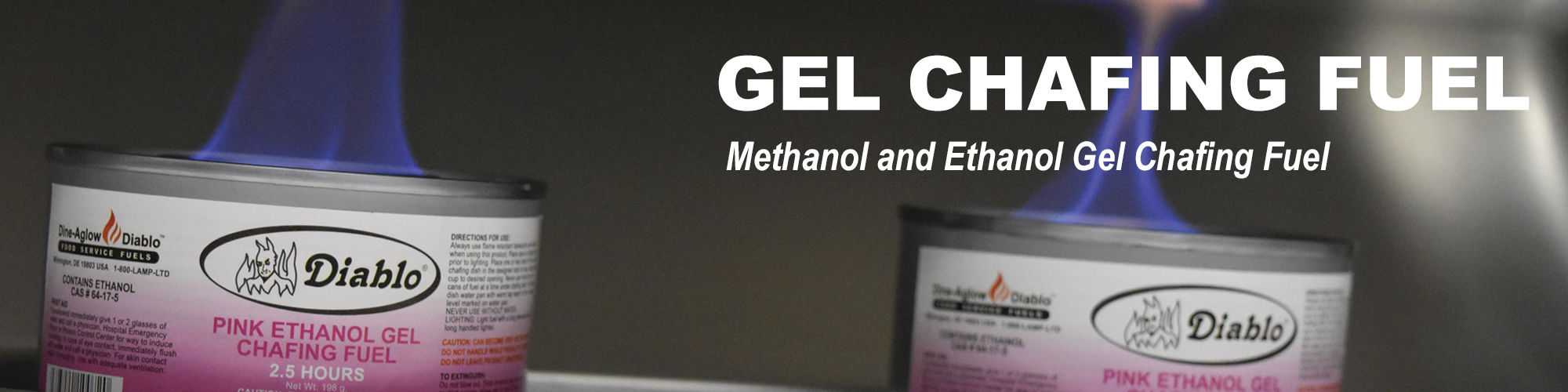 Gel Chafing Fuel